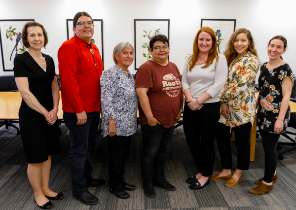Photo of the TPL's Indigenous Advisory Council