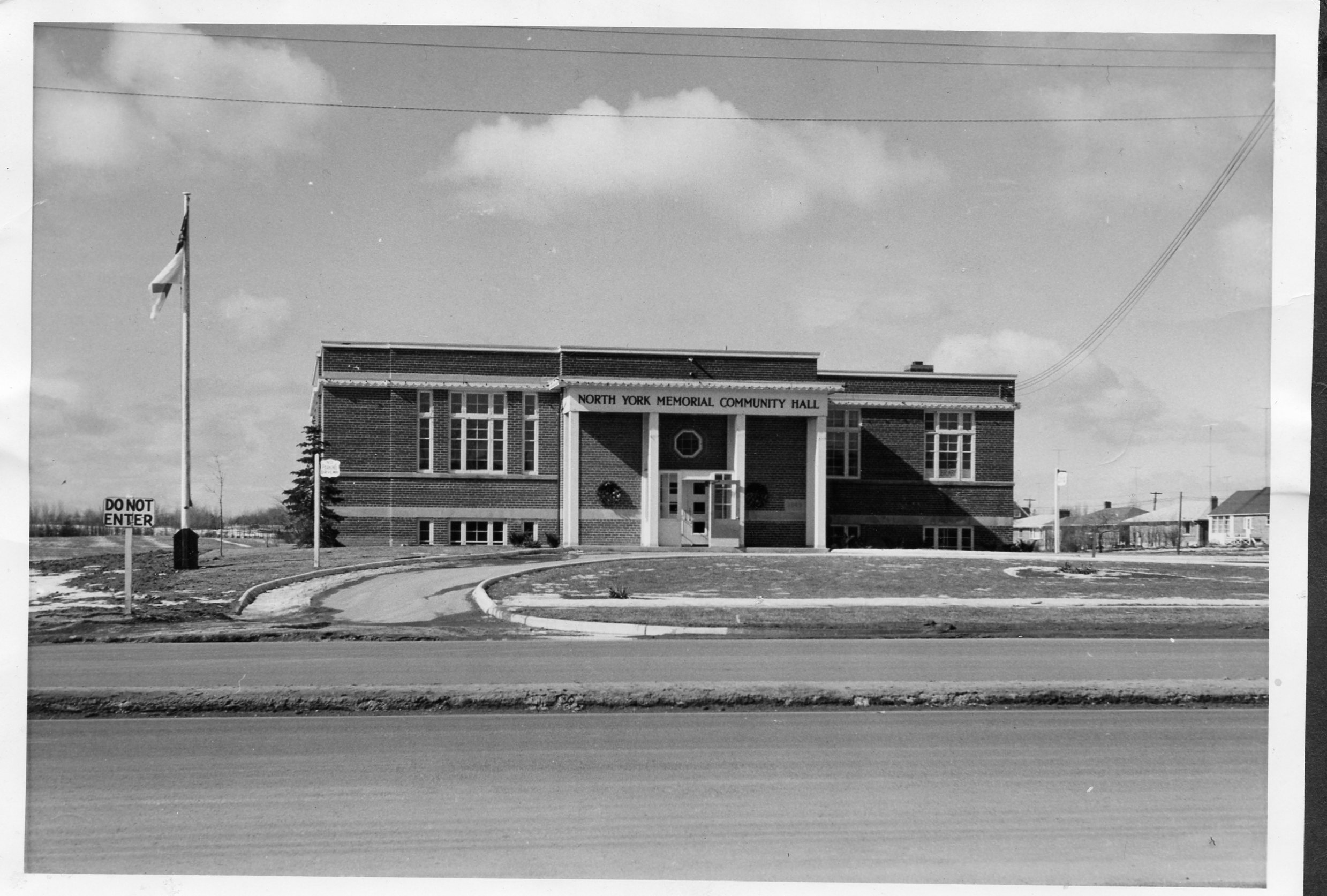 North York Memorial Hall, 1956.