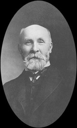 James Bain Jr. (1842-1908), first chief librarian, 1883-1908.