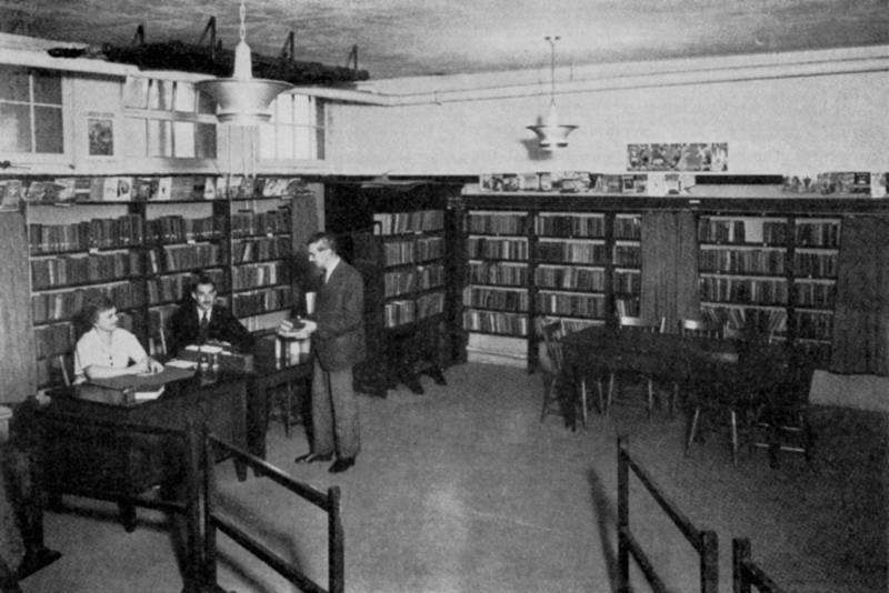 Birch Cliff Library, 1939.