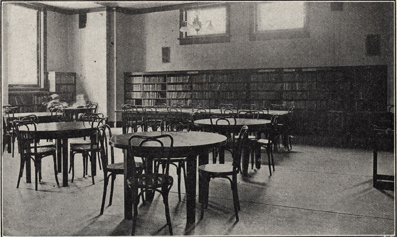 Children's Room, College Street Branch, about 1911.