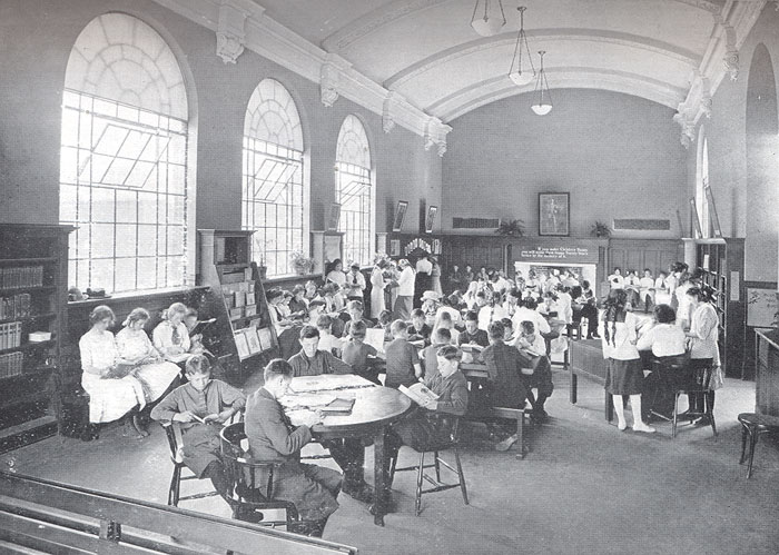 Dovercourt Branch Children's Room, 1913