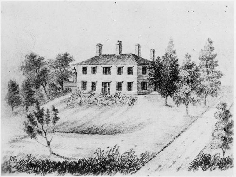 Elmsley House, home of the Toronto Library, 1810-1813