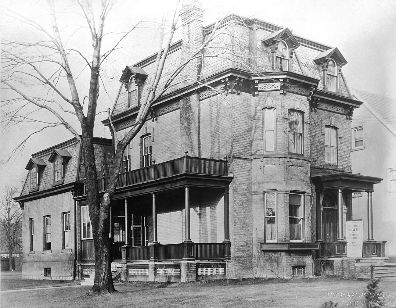 Boys and Girls House, St. George Street, 1922