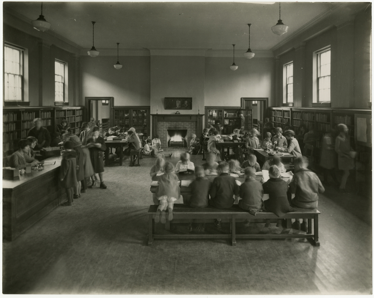 Boys and Girls Library, Riverdale Branch, about 1928