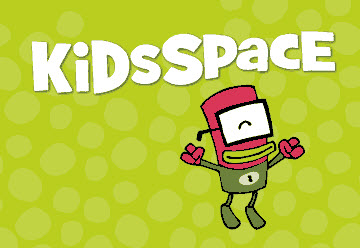 Dewey, mascot of the KidsSpace website