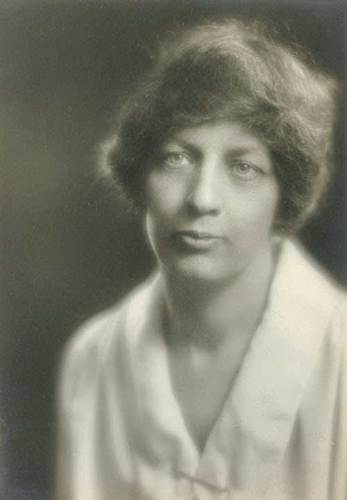 Lillian H. Smith (1887-1983), about 1925.