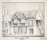 Danforth (now Pape/Danforth) Branch, rendering about 1928.