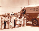 Scarborough Public Library bookmobile, 1956