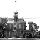 Weston Town Hall, 1955, location of the Weston Mechanics' Institute (later  Weston Public Library), 1885-1914.