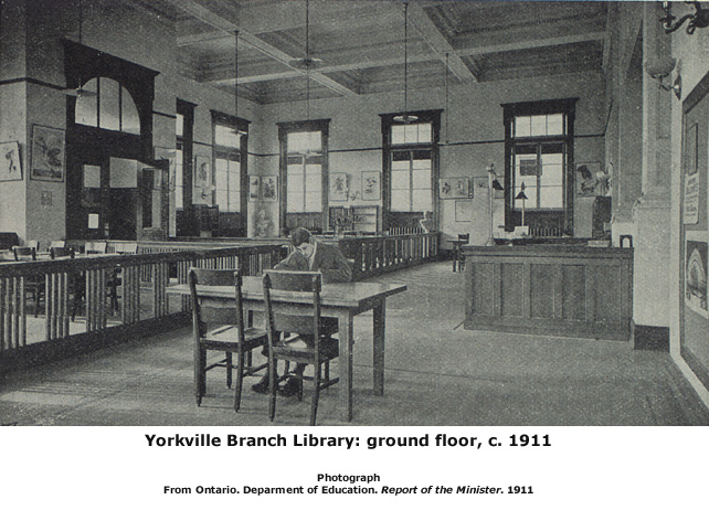 Yorkville Branch, about 1911