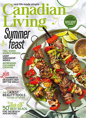 Cover of Canadian Living magazine
