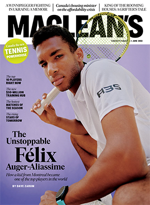 Cover of Maclean's magazine
