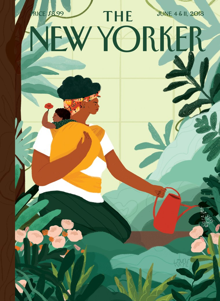 Cover of New Yorker magazine