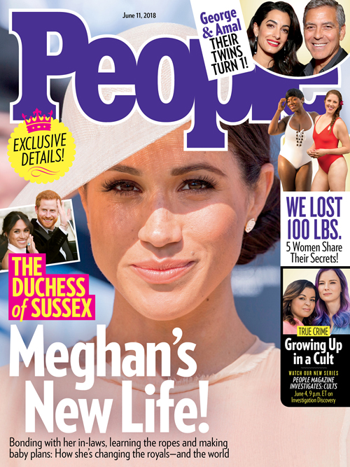 Cover of People magazine