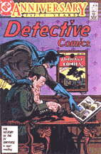 Book cover of Detective Comics