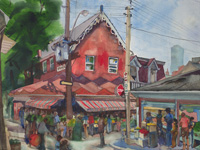 picture of Kensington Market in Toronto