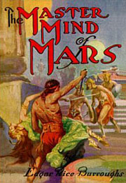 book cover: The Master Mind of Mars