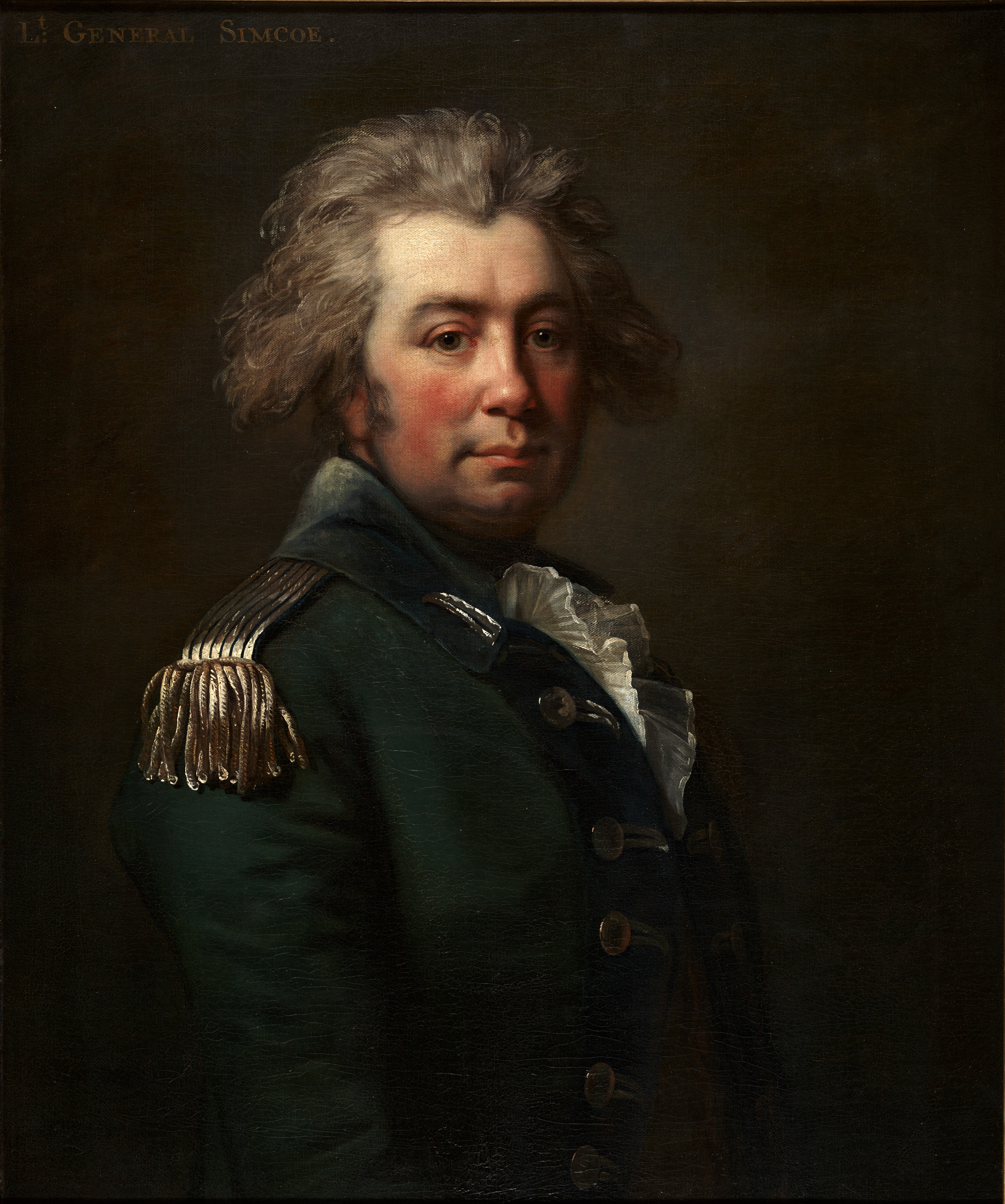 Portrait of John Graves Simcoe (1743-1808) by Jean Laurent Mosnier