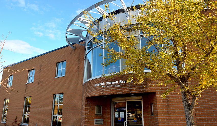 Danforth/Coxwell Library Exterior