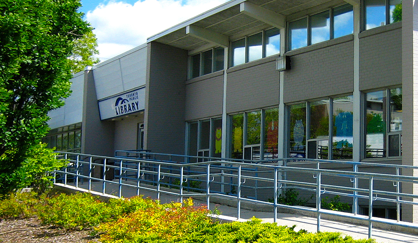 Downsview Library Exterior