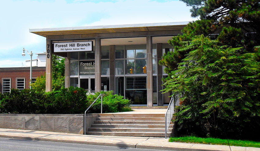 Forest Hill Library Exterior