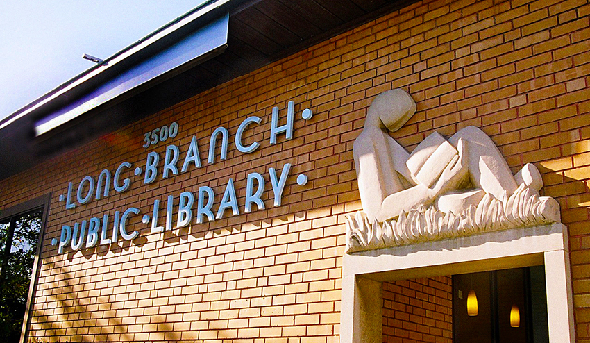 Long Branch Library Exterior