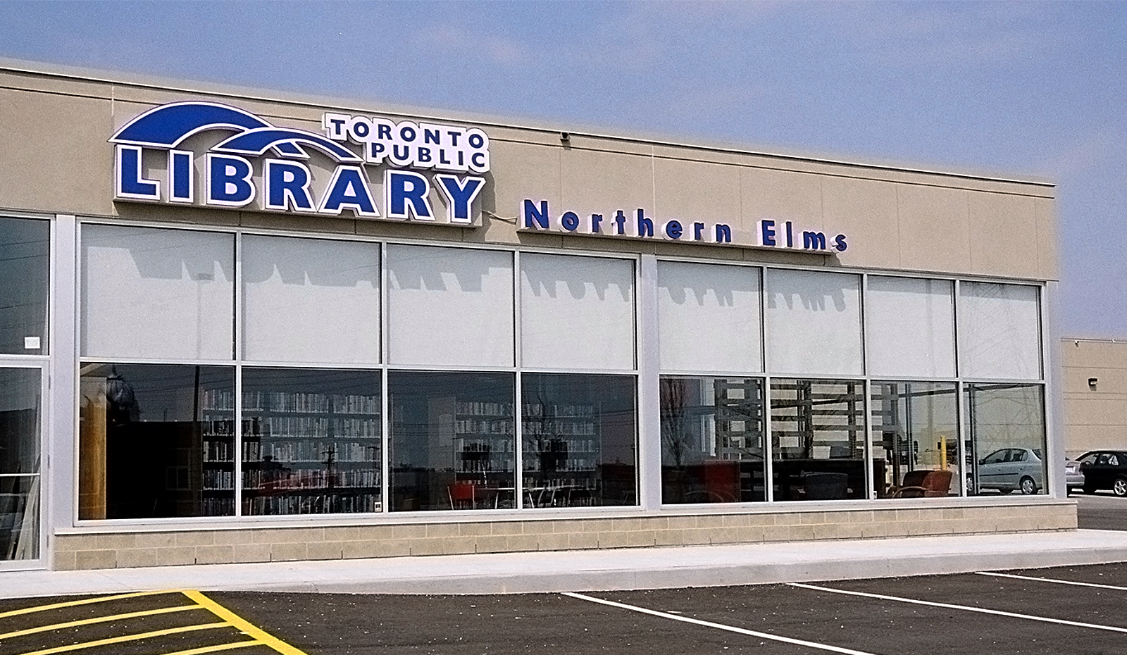 Northern Elms Library Exterior