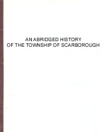 [Abridged History of the Township of Scarborough]