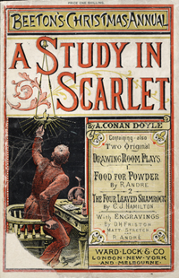 A Study in Scarlet in Beeton's Christmas Annual
