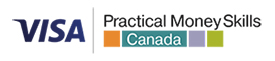 visa practical money skills canada Logo