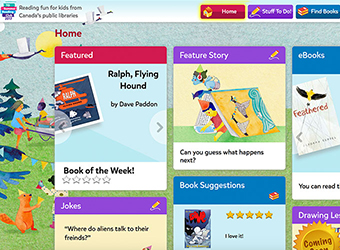 Visit official TD Summer Reading Club Website