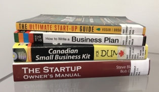 Image of business books